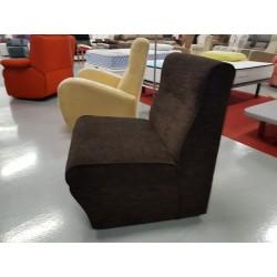 Modulo sillón tapizado en tela